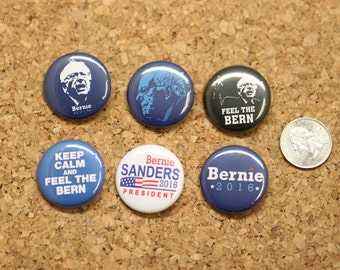 Its time for Bernie button pack