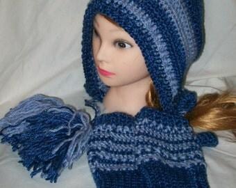 Crochet Hat Set