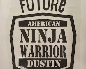 Future American Ninja Decal