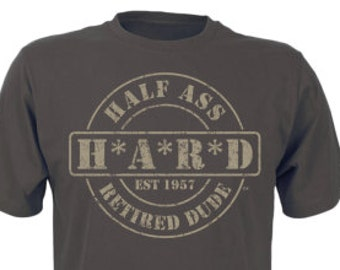 Best Military Retirement Gift, Pepper M.A.S.H. Comfort Color T-Shirt