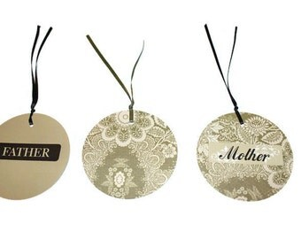 Mother and Father Gift Tags