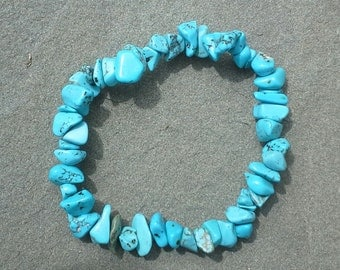 Natural Tourquoise Beaded Bracelet