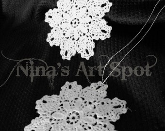 Lace Snowflake Ornament OLS1
