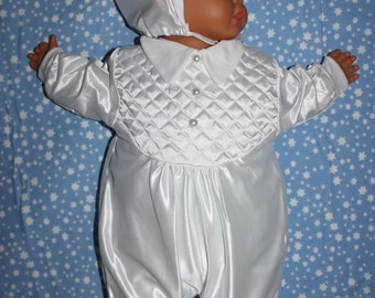 Sleeper 0-3 months, baptism, baby, receipt of birth photo or just the gift for Baby shower, birth of baby etc.