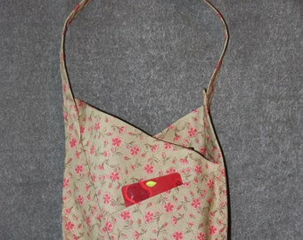 Origami-style Bag (Floral)