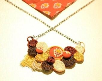 Soutaches Necklace # 8