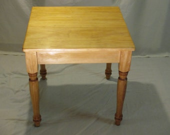 Handcrafted Colonial Pine Coffee Table