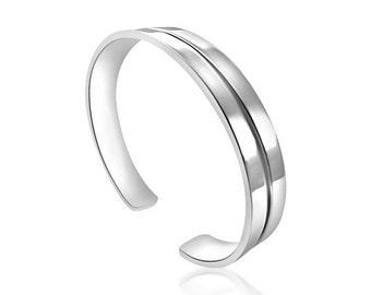 Sterling Silver Bracelet Cuff Style