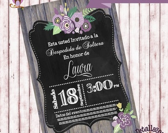 Invitation B bridal shower