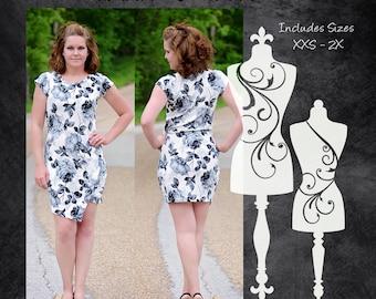The Vacation Dress (Women's Sizes) PDF Sewing Pattern