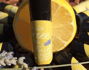 Lavender & Lemon Lip Balm
