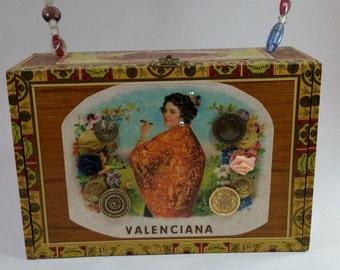 Valenciana Cigar Box Purse