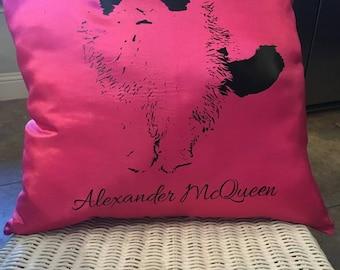 Customized Pet Pillow for Animal Lovers! (Dog, cat, bird, fish, frog, rabbit, reptile, etc.!!)