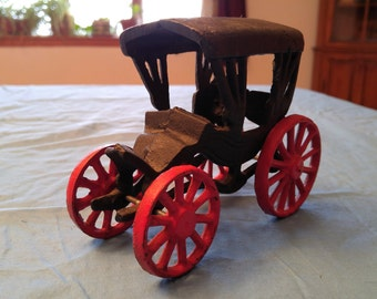 Vintage Cast Iron Buggy