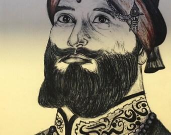 Guru Gobind Singh Art
