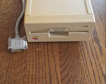 Apple external floppy disk drive