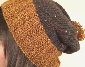 Slouchy Fleck Hat