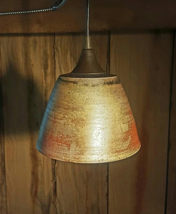 Items Similar To Rustic Industrial Pendant Lighting- Wood