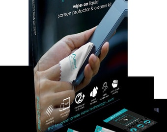 Liquid Wipe-On Screen Protector. Suitable for all IPhone / Samsung / Any Make!