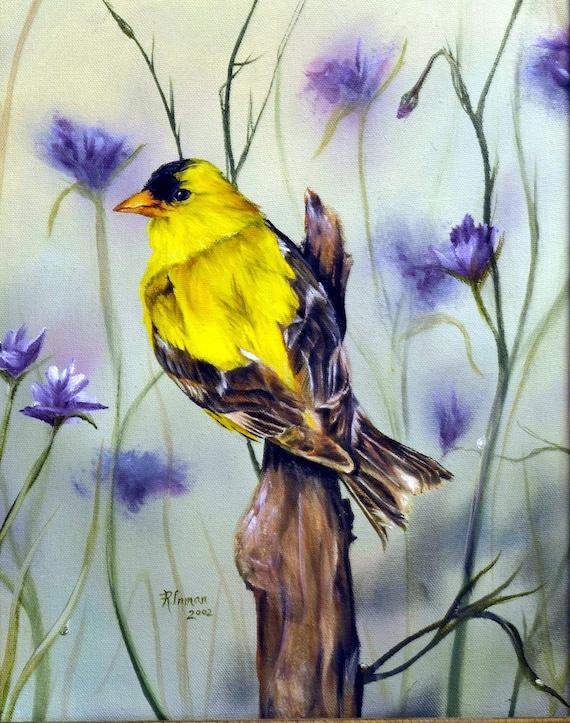 Rebecca Inman – Spring Goldfinch