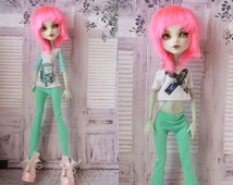 Set of clothes for dolls - Handmade Doll Clothes — Monster High / Ever After High