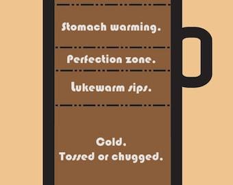 Coffee Breakdown Print Decoration