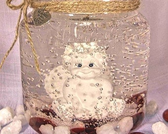 Forever Gel Candle, Refill the tealight holder, Keep the candle forever, Cherub, Over 20 scented refills to choose from!