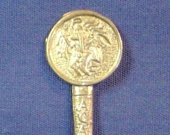 Acapulco, Mexico Silver Souvenir Spoon
