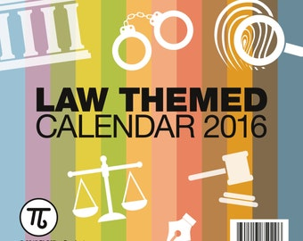 2016 Desk Calendar - for LEGAL professionals