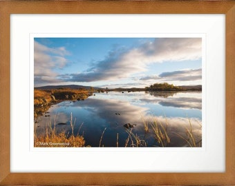 Loch Ba Rannoch Moor Scotland Framed Photographic Print