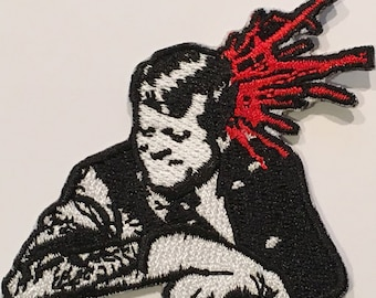 BULLET Iron On Embroidered Patch
