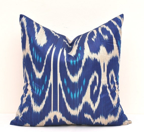 Midnight Blue Throw Pillow BluePillow Cover Midnight Blue