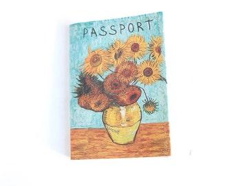 Passport cover Van gogh - Passport case van gogh - Passport holder van gogh - van gogh art - van gogh  passport
