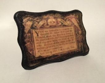 17th century funeral inventation