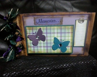 Memories Scrapbook Photo Album
