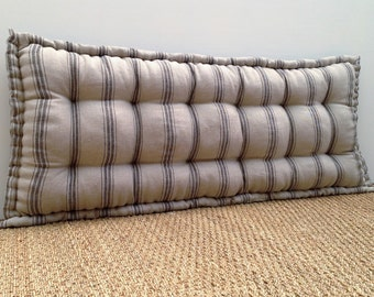 Custom Bench Cushion French Mattress Quilted Made To Measure Tufted Window
