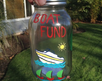 Boat Fund Money Jar