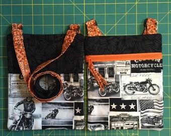 Motorcycle Cross Body bag