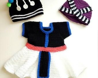 Crochet Hmong girl dress