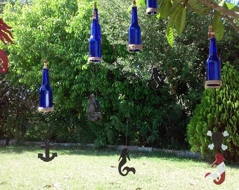 mermaid wind chimes