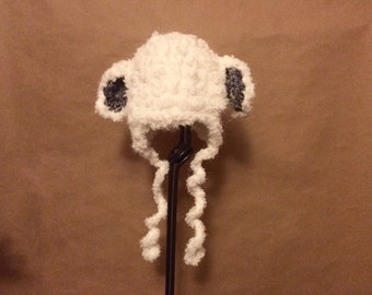 Infant Lamb Beanie (0 to 3 months)