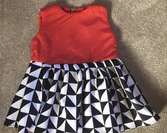 Scuba print dress.