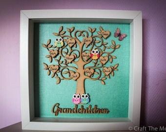 Family tree frames
