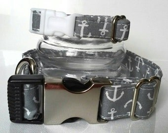 Grey Anchor friendship collars