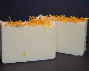 Calendula cold process soap