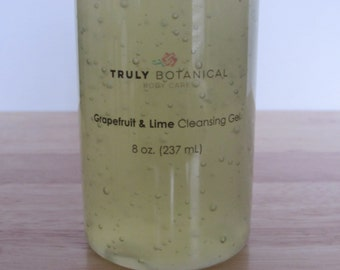 Grapefruit and Lime Cleansing Gel