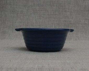 Vintage California Pottery Blue Berry Bowl
