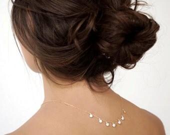 Zircon charm necklace - Charm necklace - Boho necklace - Dainty necklace -Minimal Necklace - Dainty Jewelry - Minimal jewelry