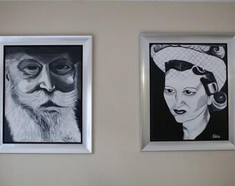 Ha Rabbi melubavich and his wife Haya Mushka
