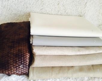 Various Upholstery Fabrics